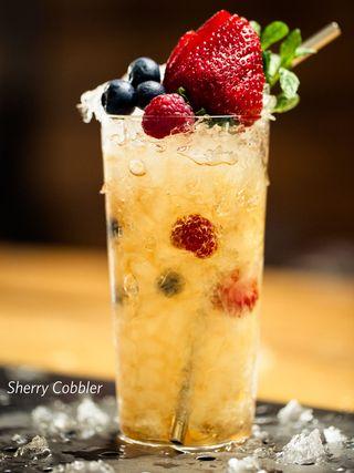 Sherry Cobbler